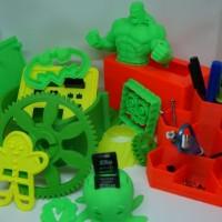 Jasa Print 3D PLA Terima File STL OBJ PLY DAE SKP dll