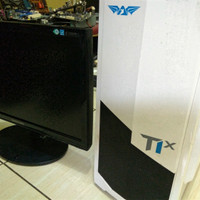 PC - CPU - Komputer Intel Core i7-2600 Dan Monitor 19in