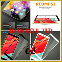 Xiaomi Redmi S2 Tempered Glass Warna Full Layar HP Anti Gores Kaca S 2
