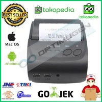 Mini Printer Thermal Bluetooth 58mm EPPOS EP5802AI - Android iOS
