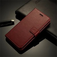DOMPET MURAH LEATHER FLIP COVER WALLET Nokia 6 case casing hp dompet