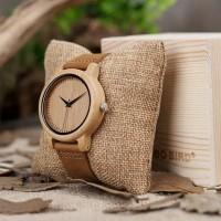 TERMURAH Jam tangan wanita kayu / Wooden Watch BOBO BIRD A09