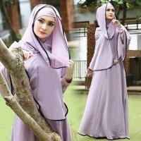 Tren Gamis !!! [Syari Syifa Lavender CL] baju muslim wanita jersey