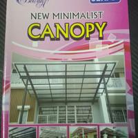 Buku katalog tralis khusus canopy minimalis seri B buku KECIL