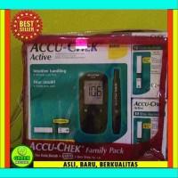 Alat Cek Gula Darah ACCU-CHEK Active / Tes Gula Darah / Tes Diabetes