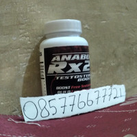 Suplemen anabolic RX24 herbal aman tanpa efeksamping