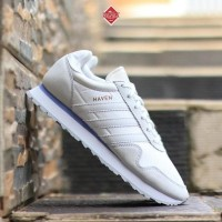Sepatu ADIDAS HAVEN FTWR WHITE/GREY/OCEAN BLUE ORIGINAL Murah Promo
