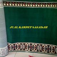 Karpet sajadah masjid kingdom motif 767009 green
