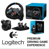 b051be31249 JakartaLezz Computech. Tambah ke Wishlist. Logitech G29 Driving Force Wheel  + Shifter Bundle PROMO LIMITED STOCK