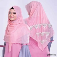 BHJ 0339 | Kerudung Hijab Segi Empat Branded Gareu Fashion 2018-2019