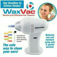 WAXVAC EAR CLEANER ALAT PEMBERSIH TELINGA