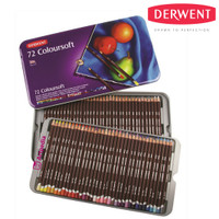 Derwent Coloursoft 72 Tin/ Coloursoft Tin 72 pcs-Pensil warna Derwent