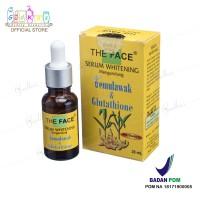 Harga the face serum wajah whitening temulawak | antitipu.com