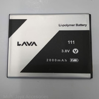 Baterai Lava Iris Leb 820 / 111 / Ori / battrey / batrai / batre hp