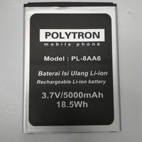 Baterai Polytron Zap 6 Note 550 / PL-8AA6 / Ori / battrey / batre hp