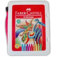 Crayon faber castel oil pastell 24 warna