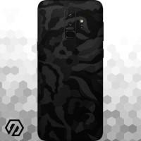 [EXACOAT] Galaxy S9+ (Plus) Skins 3M Skin / Garskin - Black Camo