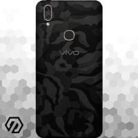 [EXACOAT] Vivo V9 Skins 3M Skin / Garskin - Black Camo