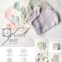 1Pcs Little Palmerhaus Wash Mitt / Waslap Handuk Cotton Bayi / Baby