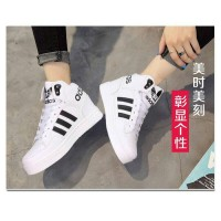 Jual Sepatu Wanita Branded Berkualitas SNEAKER BOOTS ADIDAS CL PUTIH