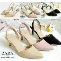 Jual Sepatu Wanita Branded Berkualitas HIGH HEELS ZARA BASIC REPLIKA