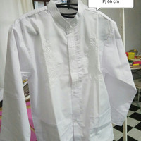Baju Koko Murah Banget Bagus Muslim Coklat XL Itang Yunasz
