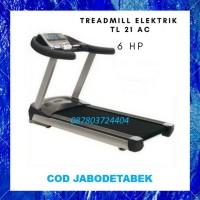 Treadmill Elektrik Murah 6 HP TL 21AC COD Semarang - electric tredmill