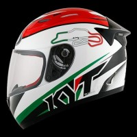 Helm KYT RC Seven Motif Keren Fashion Perlengkapan Hobby Cowok Touri