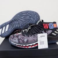 0769a16f87f3 Sepatu Basket Adidas Dame 4 Low Black Camo