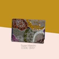 Kain Batik Tulis Solo Abstrak Super Maestro Kode SM31