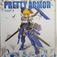 Pretty Armor Ver 1 Girls Project Gundam MS NEW MIB