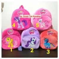 Jual Tas Anak Karakter Kuda My Little Pony 25cm Ransel Boneka Import Murah Murah