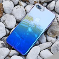 Softcase TPU Gradient Blue Light Cover Case Casing HP Samsung Note 8
