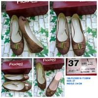 ORIGINAL Sepatu Kerja Coklat WANITA BRANDED FLADEO MURAH SIZE 37 FLC00
