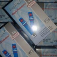 Harga alat kedokteran easy touch colesterol 40 pcs | Pembandingharga.com