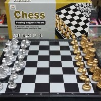 Harga chess folding magnetic board games papan catur mainan | WIKIPRICE INDONESIA