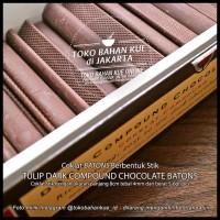 TERBARU STIK COKLAT CHOCOLATE BATONS COMPOUND STICKS TULIP BATON COCOA