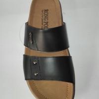 Sandal Kulit Pria Rong Polo 8027