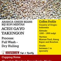 Jual Biji Kopi Mentah / Coffee Green Beans Gayo Takengon Dry Hulled Murah