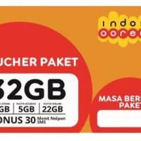 Voucher Indosat IM3 32GB ORI