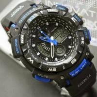 Jam tangan Digitec DG-2044T Hitam List Biru Digitec 2044 DG-2044