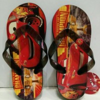 Sandal motif the cars Murah