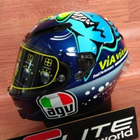 Helm AGV Corsa Rossi Misano 2015