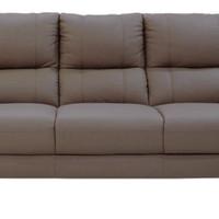 Lyle Sofa 3 Seater Half Leather Sofa