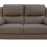 Lyle Sofa 2 Seater Half Leather Sofa