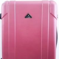 Koper Pink Hard Case Keras 20 inch 4 Roda Dengan Combination Lock