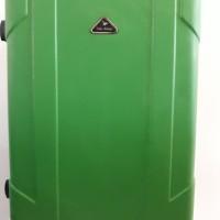 Koper Hijau Green Hard Case Keras 20 inch 4 Roda Dgn Combination Lock