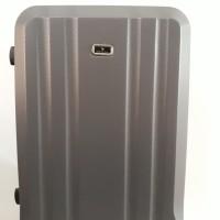 Koper Brown Coklat Hard Case Keras 20 inch 4 Roda Dgn Combination Lock
