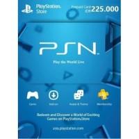 PSN Wallet/Pre Paid Card 300.000 Reg 3 Indonesia