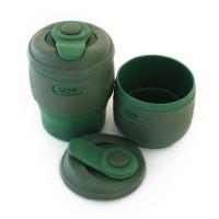 UCHII Silicone Foldable Travel Coffee Cup | Tumbler Gelas Lipat Karet